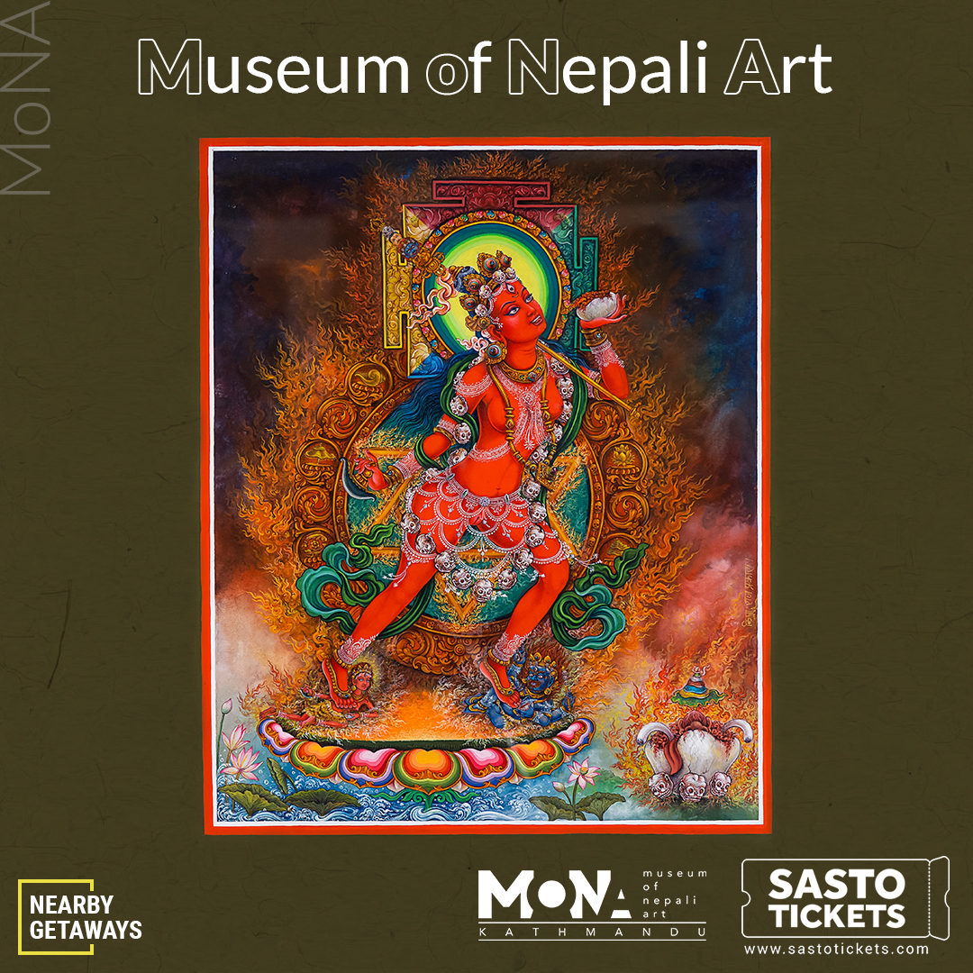 The Matic Presentations of Nepalaese Art @ KGH
